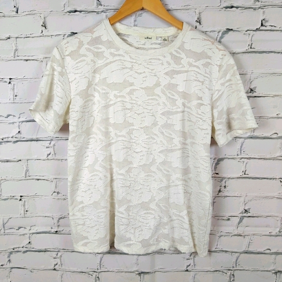 Wilfred Lace T-Shirt